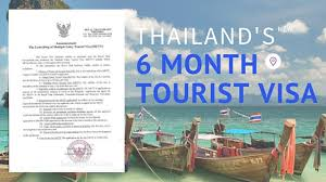 thailand u0027s 6 month multiple entry tourist visa is official and