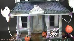 haunted house 50th birthday cake youtube