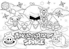 draw angry bird space coloring pages bulk color
