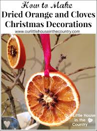Cloves How To Make Dried Orange And Cloves Christmas Decorations Our