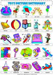 toys pictionary poster 1 vocabulary worksheet icon toys
