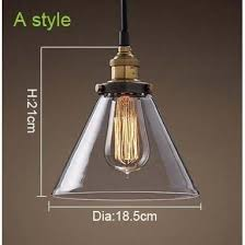 Pendant Ceiling Lights Crystal Clear And Amber Glass Pendant Ceiling Light With Vintage