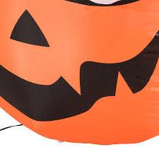 halloween lights uk homcom halloween inflatable decoration pumpkin w ghosts 1 8 m 5