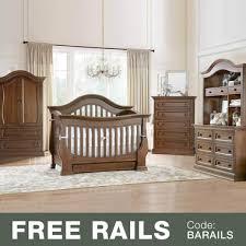Davenport Convertible Crib Baby Appleseed 5 Nursery Set Davenport 3 In 1 Convertible