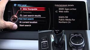 2014 2015 2016 bmw idrive touch infotainment review with