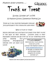 madison districttrunk or treat