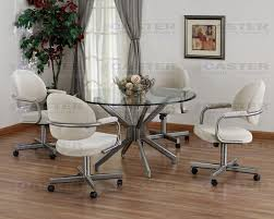caster dining room chairs dining sets