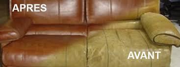 peinture canapé cuir rénovation de canapé et fauteuil en cuir strasbourg