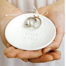 wedding ring holder ring bearer bowl to and to hold wedding ring holder