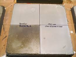 creating concrete countertops the great concrete sealer showdown