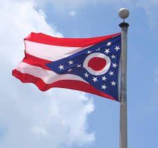 White Flag Meaning Ohio Flag State Flag Of Ohio