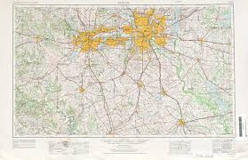 Maps Dallas Texas Topographic Maps Perry Castañeda Map Collection Ut