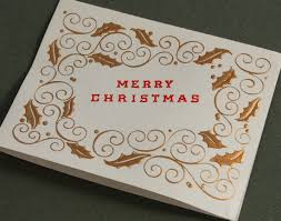 vintage cards from past crane christmases