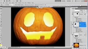 halloween phtoshop background halloween lantern carving in photoshop youtube