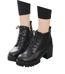 high top motorcycle shoes satuki women u0027s teen girls waterproof high heel wedges high top