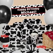 cow print balloons a cowboy theme party ideas for a western celebration