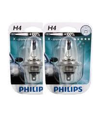 philips extreme x treme vision car headlight bulbs bulb h4 60