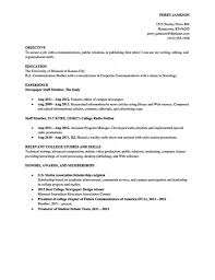 Resume For Library Job by Fresh Idea Sample Resume For College Student 13 Academic Resume