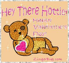 Sexy Valentine Meme - hottie valentine teddy bear glitter graphic greeting comment meme