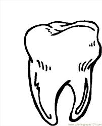 fancy teeth coloring pages 30 coloring kids teeth