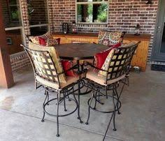 Yard Art Patio Fireplace Hanamint Chateau Butterfly Extension Dining Table Paired With