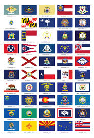 State Flag Of Alaska 50 State Flags All 50 State Flags Printables State Flags