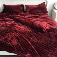 Japanese Bedding Sets Online Shop Warm Soft Flannel Fleece 4 Pcs Bedding Sets Japanese