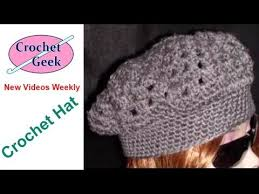 redheart pattern lw2741 crochet how to free adult hat pattern and video tutorial crochet