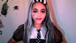 Monster High Halloween Costumes Frankie Stein by Monster High Frankie Stein Costume Review Youtube