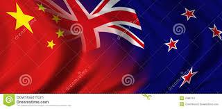New Zeland Flag China U0026 New Zealand Stock Illustration Illustration Of Industry