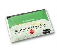 couvre siege wc 50 packs lot livraison gratuite papier jetable siège de toilette