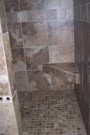 Open Shower Bathroom Design by Marble Tiles In Bathroom Design Ideas With Mosaic Tile Also Bath