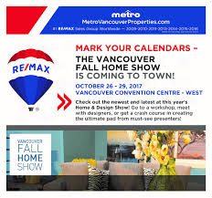 vancouver fall home show is coming to town sean u0026 kim whittall