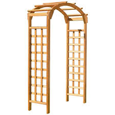 How To Build A Trellis by Wood Arbors U0026 Trellises Garden Center The Home Depot