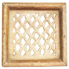 handmade home decor items wholesale handmade mango wood square wall hanging with traditional
