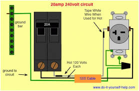circuit breaker wiring diagrams do it yourself help for 120 volt