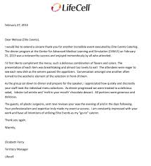 elite events catering letters of recommendation
