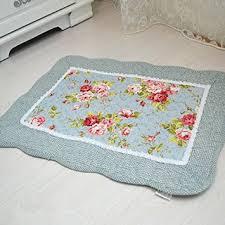 Floral Bathroom Rugs Cotton Bathroom Rug Sets Spring Savings On Marina 2 Pc Cotton