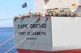 Image Of South African Flag Cape Orchid First Ship To Fly South African Flag World Maritime News