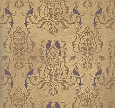 damask stencil for wall decor wall stencils and stencil