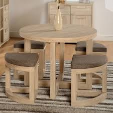 round dining table sets wayfair co uk