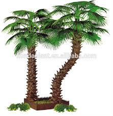 decorative flowers wreaths type preserved palm trees