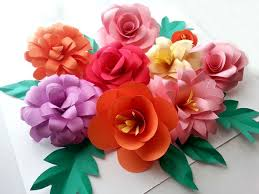 Paper Rose Topiary - diy paper flowers folding tricks 5 steps with pictures