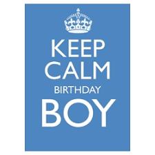 birthday boy mojolondon keep calm birthday boy card