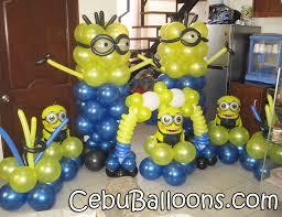 Despicable Me Decorations Minions Balloon Decoration Home Decor 2017