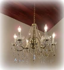 beaded crystal chandelier chandelier ro sham beaux orbit white milk beads antique