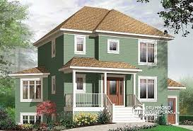 Multi Unit House Plans Multi Family Plan W2797b Detail From Drummondhouseplans Com