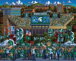 dowdle michigan state spartans football stadium made in usa 500