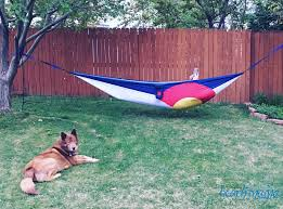 hanging out in our grand trunk hammock crunchy beach mama