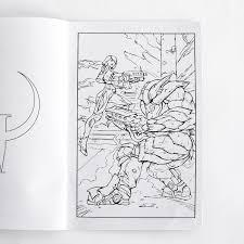 bethesda store quake champions mini coloring book